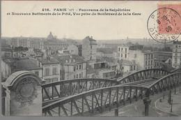 Paris  13 Em Panorama De La Salpétrière - Arrondissement: 13