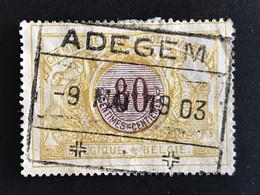TR39 Gestempeld ADEGEM - 1895-1913