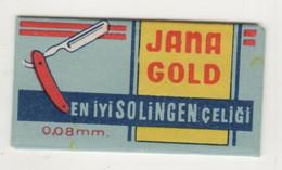 JANA GOLD  RAZOR  BLADE - Razor Blades
