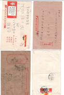 China , 4 ältere Briefe - Zonder Classificatie