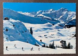 Elsigenalp Skihütte Des SC Frutigen/ Abfahrtpiste - BE Berne