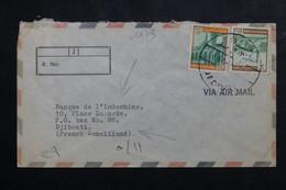 ARABIE SAOUDITE - Enveloppe Commerciale De Jeddah Pour Djibouti En 1973 - L 73769 - Arabie Saoudite