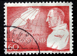 Greenland 1969 70th Birthday King Frederik IX .Minr.72   ( Lot D 2777) - Used Stamps