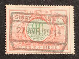 TR40 Gestempeld SINAY-WAAS N°1 - 1895-1913