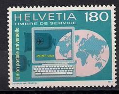 1995 Schweiz UPU Yv 470 Mi. 16  **MNH - Oficial