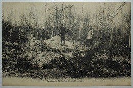 GUERRE 1914-18 - Tombes Du BOIS Des CAURES En 1915 - Verdun