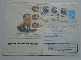 D174573  GANZSACHE  Entier Postal Stationery  URSS  Ca 1990 Uzhorod  Ungvár  Ukraine - 1923-1991 USSR