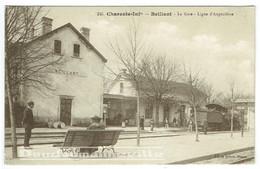 CPA - 17 - BEILLANT - Gare - Locomotive - Transport - SNCF              ***BELLE CARTE*** - Sonstige Gemeinden