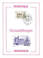 18176101 BE 19761023 Geraardsbergen; Tourisme, Prieuré Hunnegem, Grammont; Fllet Luxe Cob1832 - Feuillets