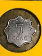 SOUTH VIET NAM VIETNAM CONI KM#9A /1971/5 DONG /NICKEL / 1 PCS AU/03 PHO TO YOU SEE - Vietnam