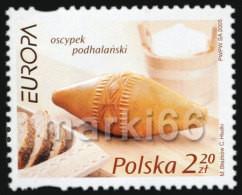 Poland - 2005 - Europa CEPT - Gastronomy - Mint Stamp - Ungebraucht
