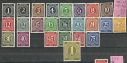 """Allierte Besetzungen Gemeinschaftsausgaben 23 Briefmarken Aus 911-937a, Teilsatz Gpr.""""postfrisch Mi.:6,20 - American,British And Russian Zone"""