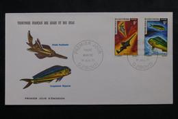 AFARS ET ISSAS - Enveloppe FDC En 1971 - Poissons - L 73784 - Cartas
