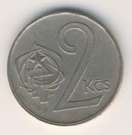 CZECHOSLOVAKIA 1983: 2 Koruny, KM 75 - Czechoslovakia