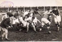 PHOTO ORIGINALE D'un Match De Rugby MONTFERRAND Contre TOULON,circa 1930 - Rugby