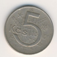 CZECHOSLOVAKIA 1970: 5 Korun, KM 60 - Czechoslovakia