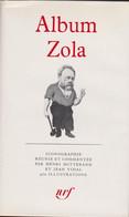 Album Zola. Album  N° 2 De La Pléiade  - Zola Emile - Mitterand Henri - Vidal Jean. 1963 - La Pleiade