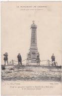 Militaria - Militaire : Monument Aux Morts : CRAONNE - Aisne : Cliché Avant La Guerre - Maintenant Démoli : Animé : - Monumenti Ai Caduti