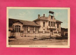 51 Marne, Rare, AUBERIVE, La Mairie-Ecoles, (Ch. Brunel) - Sonstige Gemeinden