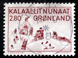 Greenland 1986 Kunst (VII)  MiNr.167   ( Lot D 1827) - Used Stamps