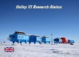 Antarctica Halley VI Research Station British Antarctic Survey New Postcard Antarktis AK - Cartoline