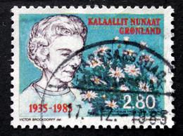 Greenland 1985  Queen Ingrid  MiNr.159  ( Lot D 968) - Gebraucht