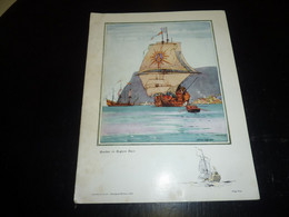 CATALOGUE DE CANADIAN PACIFIC DE 1924 - AGREMENTE DE 12 REPRODUCTIONS DE NORMAN WILKINSON - BATEAU SHIP PAQUEBOT (DOC-B) - Trasporti
