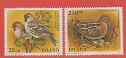 1995 ** Islande  (sans Charn., MNH, Postfrish)  Yv  781/2Mi  833/4 - Nuevos