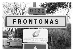 FRONTONAS - Panneau Entrée - Other Municipalities