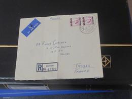 Bahrain  Lettre Recommandée Du 16 12 1959 De Bahrain Pour  Troyes - Unclassified