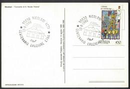 LA346    Italia, Special Postmark 1986 Nicolosi, Centenary Of Etna Eruption, Centenario Eruzione Etna - Volcanos