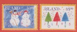 1995 ** Islande  (sans Charn., MNH, Postfrish)  Yv  787/8Mi  838/9 - Nuevos