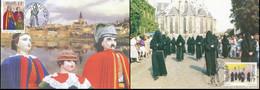 NB - [13432]TB//-CMAX 2823/24 - 1999, MB, Tourisme Et Folklore, ReusenFamilie De Grammont Et La Confrérie De La Misérico - 1991-2000