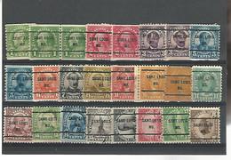 37545 ) USA Collection Precancel - Vorausentwertungen