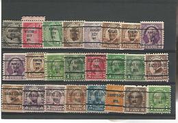 37546 ) USA Collection Precancel - Vorausentwertungen