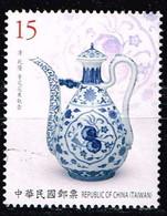 Taiwan 2018,Michel# 4287 O Chinese Blue & White Porcelain - 1945-... Republic Of China