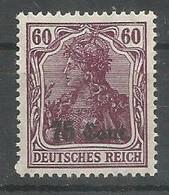 N° 34a **  (type Germania 75c Sur 60 Pf Lilas Foncé ) - [OC26/37] Zonas Iniciales