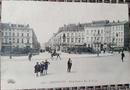 Bruxelles : Rond Point Et Rue De La Loi - Avenidas, Bulevares