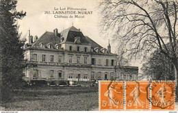 D46 LABASTIDE MURAT  Le Château - Other Municipalities