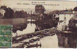 D46  FIGEAC  Les Bords Du Célé Au Pont Du Pin  ..... - Figeac