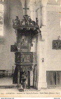 D46  GOURDON  Intérieur De L'Eglise St-Siméon- Belle Chaire  ..... - Gourdon