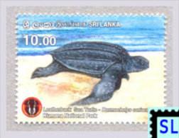 Sri Lanka Stamps 2016, Kumana National Park, Turtle, MNH - Sri Lanka (Ceylon) (1948-...)