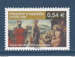 ⭐ Andorre Français - YT N° 632 - Neuf Sans Charnière - 2006 ⭐ - Unused Stamps