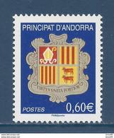 ⭐ Andorre Français - YT N° 633 - Neuf Sans Charnière - 2007 ⭐ - Unused Stamps