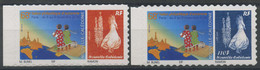 Nouvelle Caledonie (2014) N 1232 A 1233 (Luxe) Autoasdhesifs - Unused Stamps