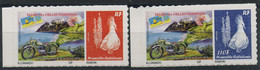 Nouvelle Caledonie (2015) N 1237A A 1237B (Luxe) Autoasdhesifs - Unused Stamps
