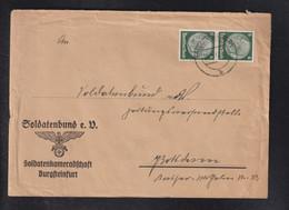 DR Brief Burgsteinfurt Soldatenbund - Brieven En Documenten