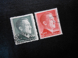 DR Mi 799A/801B  1942/44 - Lot 348 - Used Stamps