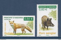 ⭐ Andorre Français - YT N° 649 Et 650 - Neuf Sans Charnière - 2008 ⭐ - Ungebraucht