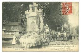 GIRONDE - Dépt N° 33 = LEOGNAN 1910 = CPA  GUILLIER N° 8224 = CHAR DE LA REOLE - Other Municipalities